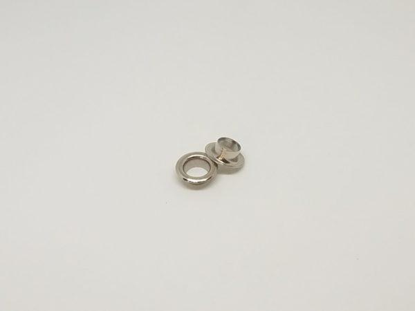 oczka metalowe kaletnicze 8mm chrom